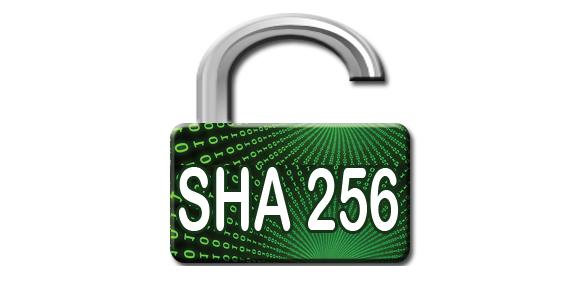 SHA 256