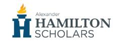Alexander Hamilton Scholars
