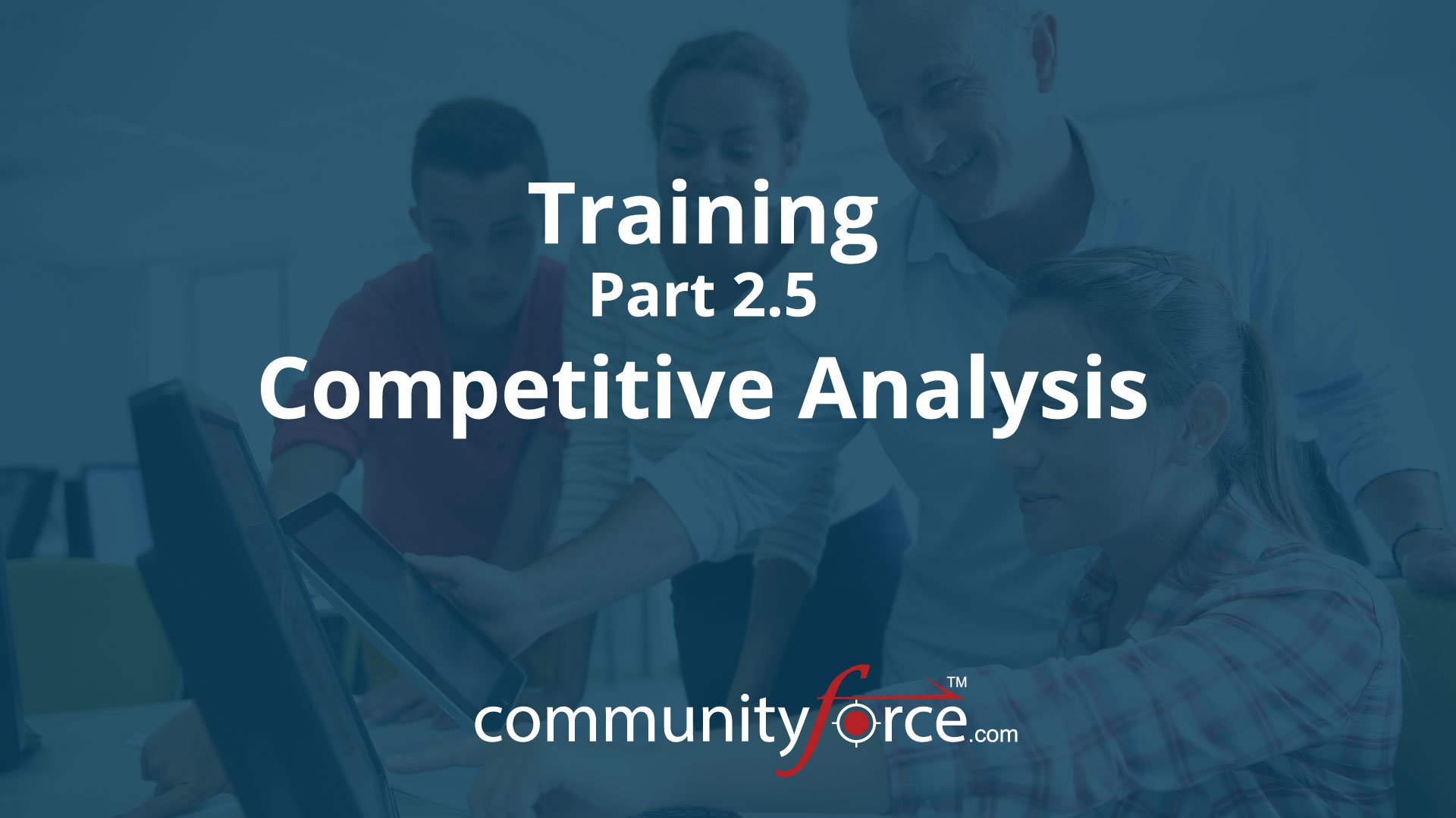 LF1 Training Part 2.5: Competitive Analysis