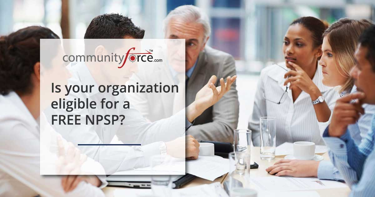 Is your Organization eligible for a FREE NPSP?